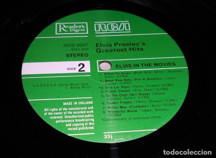 Discos de vinilo: Elvis Presley – Elvis In The Movies ROCK POP ROCK - Foto 4 - 142242174