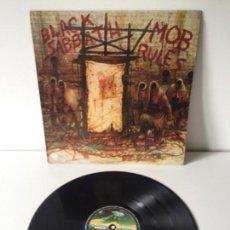 Discos de vinilo: BLACK SABBATH - MOB RULES - 1981 VERTIGO SPAIN. Lote 142242282