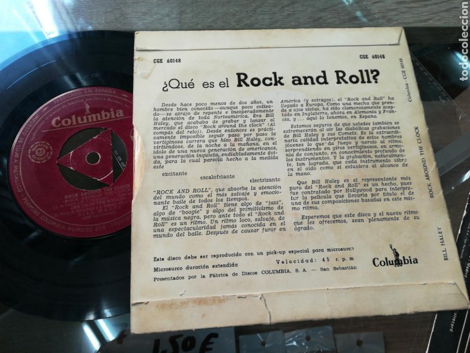 Discos de vinilo: Bill haley ep rock around the clock - Foto 2 - 142245137