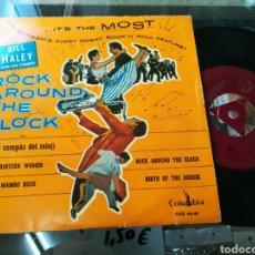 Discos de vinilo: BILL HALEY EP ROCK AROUND THE CLOCK. Lote 142245137