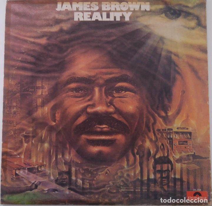 Usado, James Brown...Reality. (Polydor 1975.) Venezuela segunda mano
