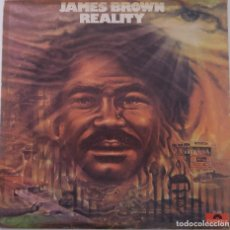 Discos de vinilo: JAMES BROWN...REALITY. (POLYDOR 1975.) VENEZUELA . Lote 142247054