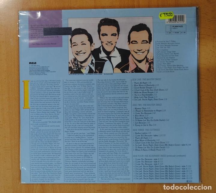 Discos de vinilo: ELVIS PRESLEY - THE COMPLETE SUN SESSIONS - 2 LP - Foto 2 - 142259628
