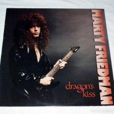 Discos de vinilo: LP MARTY FRIEDMAN - DRAGON´S KISS. Lote 142268878