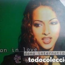 Discos de vinilo: DANA INTERNATIONAL– WOMAN IN LOVE - THE REMIXES - MAXI-SINGLE SWEDEN 1999. Lote 142275754