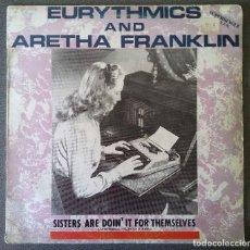 Discos de vinilo: EURYTHMICS AND ARETHA FRANKLIN. Lote 142284270