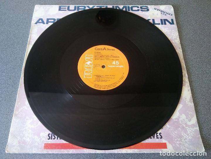 Discos de vinilo: Eurythmics and Aretha Franklin - Foto 2 - 142284270