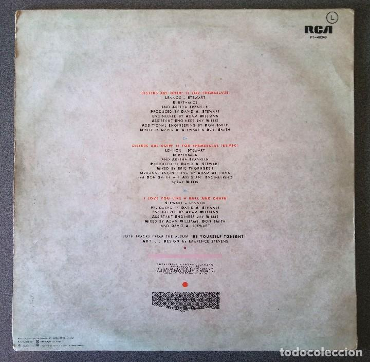 Discos de vinilo: Eurythmics and Aretha Franklin - Foto 3 - 142284270