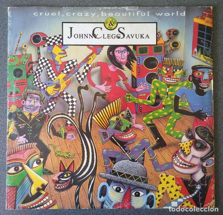 JOHNNY CLEGG SAVUKA CRUEL CRAZY BEAUTIFUL WORLD (Música - Discos de Vinilo - Maxi Singles - Étnicas y Músicas del Mundo)