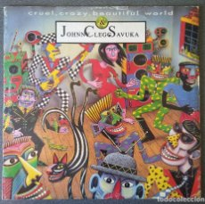 Discos de vinilo: JOHNNY CLEGG SAVUKA CRUEL CRAZY BEAUTIFUL WORLD. Lote 142284398