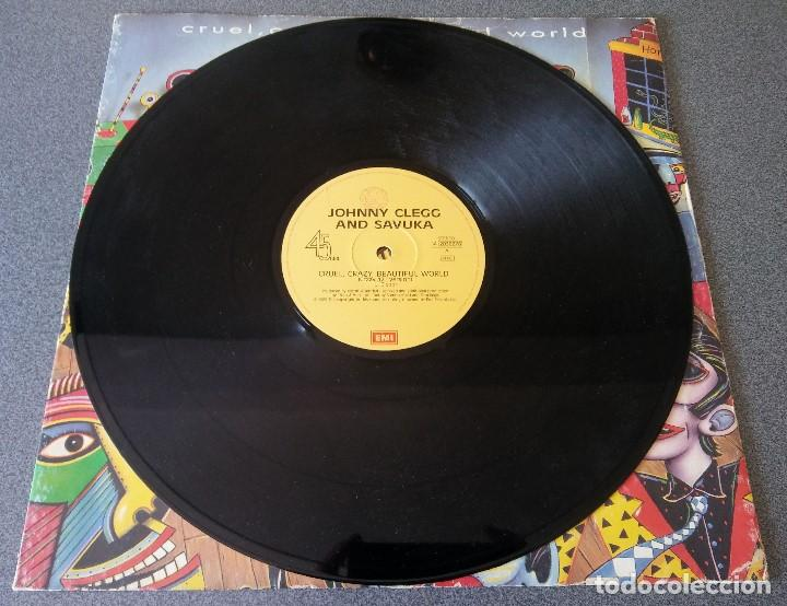 Discos de vinilo: Johnny Clegg Savuka Cruel Crazy Beautiful World - Foto 2 - 142284398