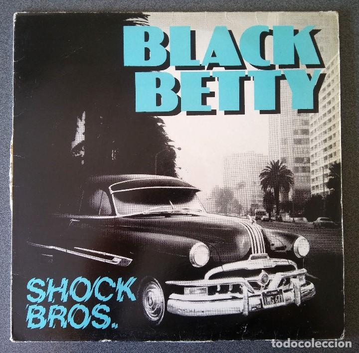 BLACK BETTY SHOCK BROS (Música - Discos de Vinilo - Maxi Singles - Pop - Rock Internacional de los 70)