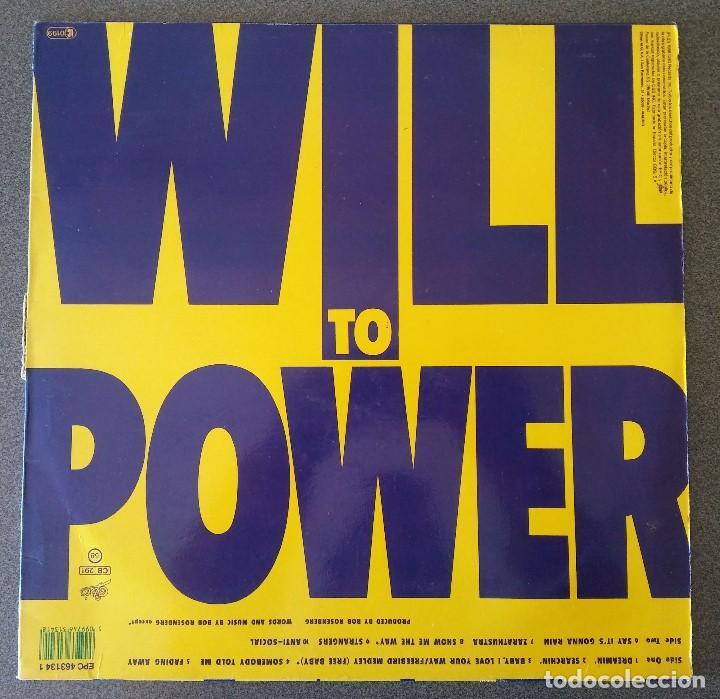 Discos de vinilo: Lote Maxi Single Will To Power Sinitta Dollar - Foto 2 - 142284634