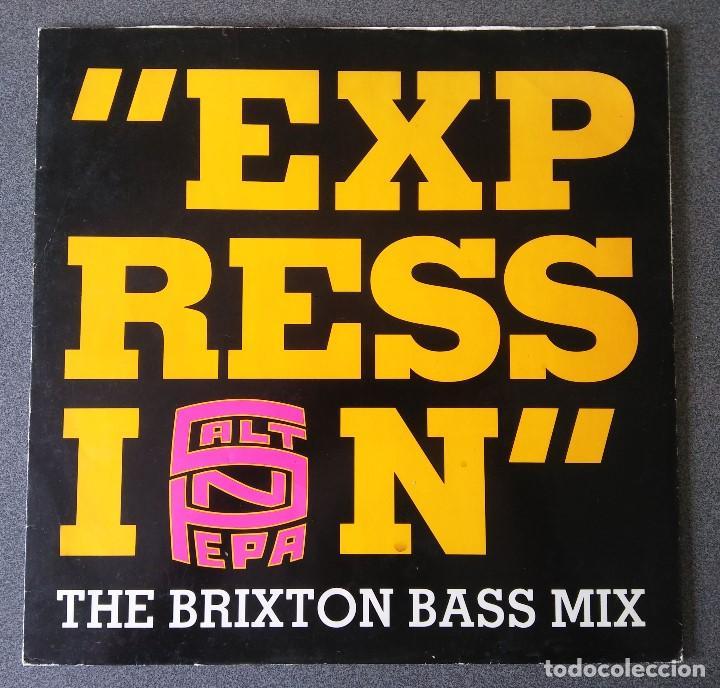 SALT N PEPA EXPRESSION (Música - Discos de Vinilo - Maxi Singles - Rap / Hip Hop)