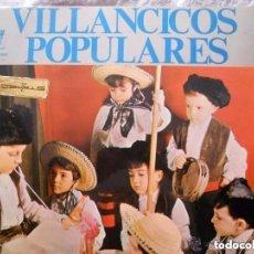 Discos de vinilo: VILLANCICOS POPULARES-PORT.ABIERTA-LETRAS-ESCOLANIA DEL STMO.SACRAMENTO- LP ZAFIRO 1964. Lote 142285514