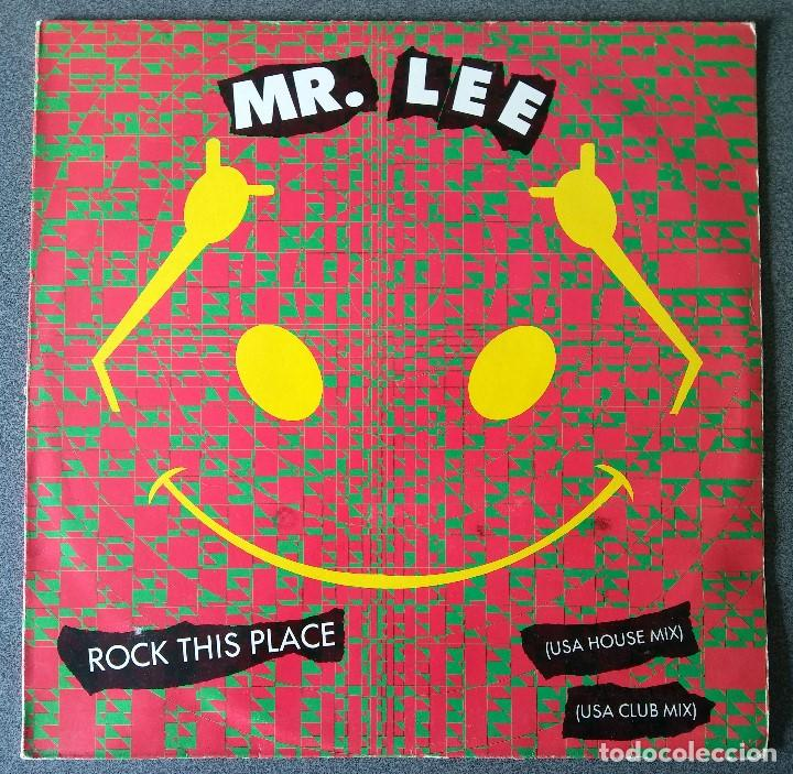 Discos de vinilo: Lote Maxi Single Dance Hip Hop Mr Lee Snap Krush Sharada House Gang - Foto 2 - 142285786