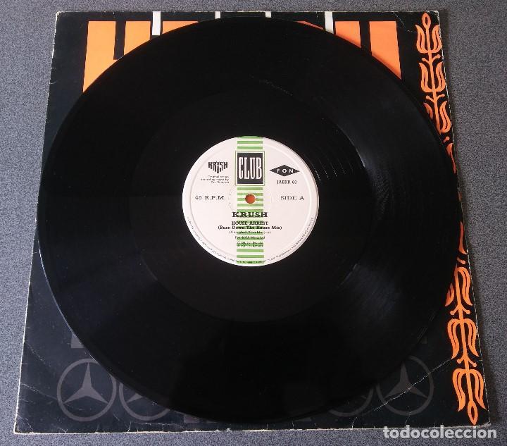 Discos de vinilo: Lote Maxi Single Dance Hip Hop Mr Lee Snap Krush Sharada House Gang - Foto 9 - 142285786