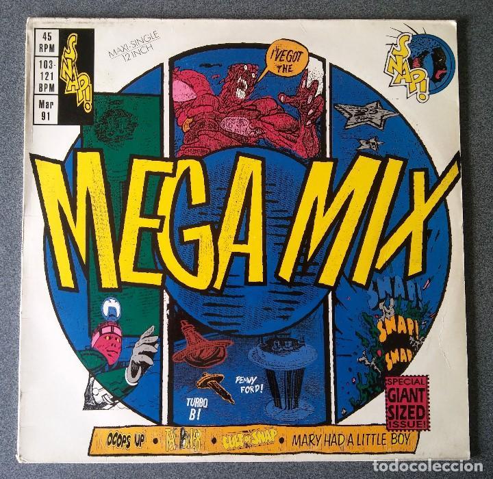 Discos de vinilo: Lote Maxi Single Dance Hip Hop Mr Lee Snap Krush Sharada House Gang - Foto 11 - 142285786
