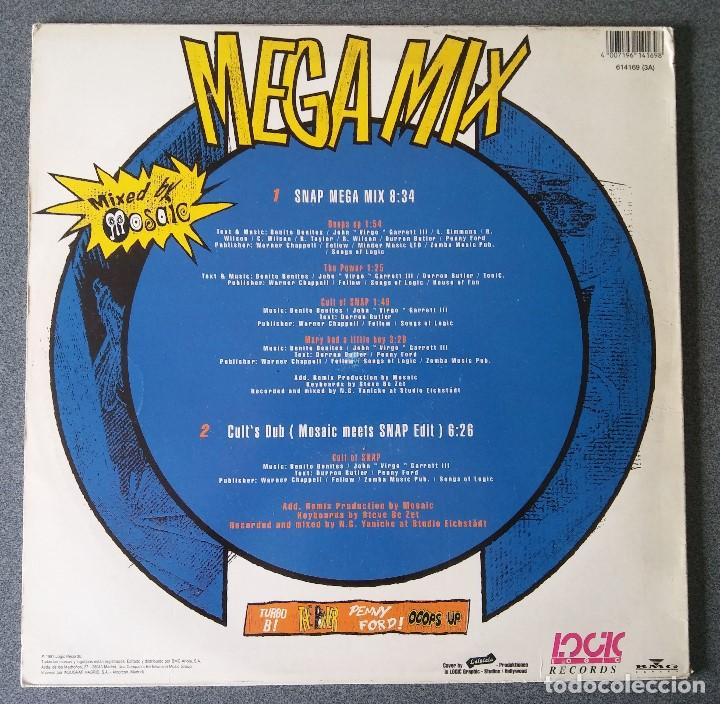 Discos de vinilo: Lote Maxi Single Dance Hip Hop Mr Lee Snap Krush Sharada House Gang - Foto 13 - 142285786