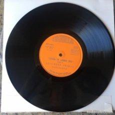 Discos de vinilo: ESPAÑA EN LLAMAS 1936 - DISCO DE 10 PULGADAS - EDICIONES ACERVO 1967 . LCN 558. Lote 142305486