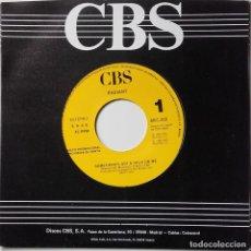 Discos de vinilo: RADIANT: SOMETHING'S GOT A HOLD ON ME. Lote 142307758