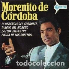 Discos de vinilo: MORENITO DE CORDOBA - EP SAEF SF 2106 - LA HERENCIA DEL CORDOBES + 3 - RARO - 1963. Lote 142308354