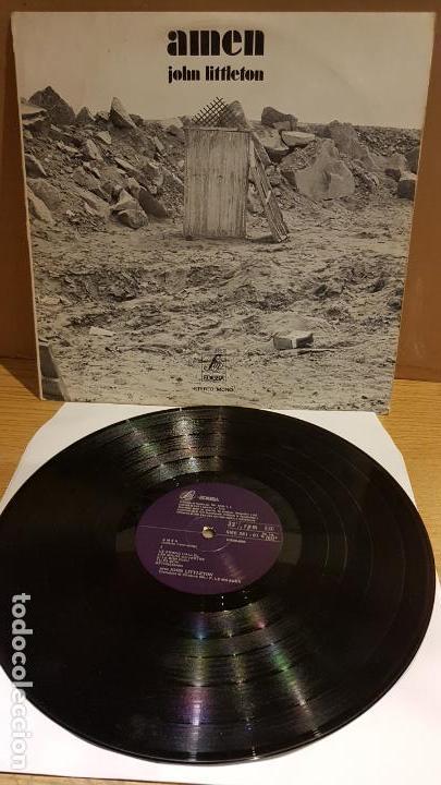 JOHN LITTLETON / AMEN ( ODETTE VERCRUYSSE ) LP - EDIGSA - 1971 / MBC. ***/*** (Música - Discos - LP Vinilo - Funk, Soul y Black Music)