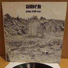 Discos de vinilo: JOHN LITTLETON / AMEN ( ODETTE VERCRUYSSE ) LP - EDIGSA - 1971 / MBC. ***/***. Lote 142310570