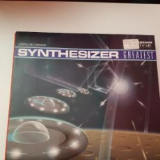 Discos de vinilo: SYNTHESIZER GREATEST. Lote 142316762
