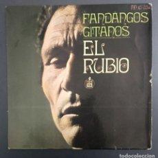 Discos de vinilo: EL RUBIO - FANDANGOS GITANOS. Lote 142318334