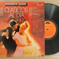 Discos de vinilo: JAMES LAST CLASICOS AL DIA VOL.2 LP VINYL MADE IN SPAIN 1971. Lote 142322366