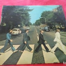 Discos de vinilo: BEATLES. LP. ABBEY ROAD. ODEON 1969. Lote 142323230
