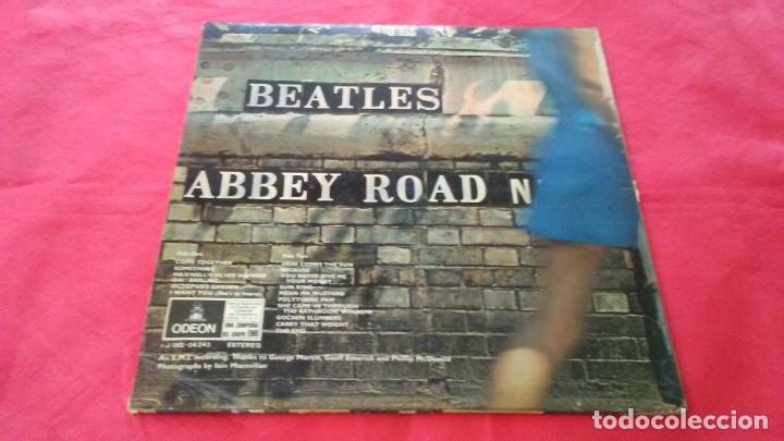 Discos de vinilo: BEATLES. LP. ABBEY ROAD. ODEON 1969 - Foto 2 - 142323230