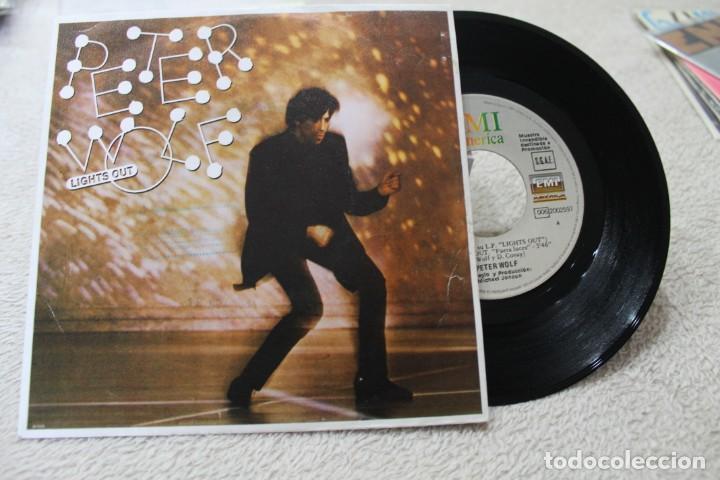 SINGLE PETER WOLF LIGHTS OUTS PROMO 1984 (Música - Discos de Vinilo - Singles - Pop - Rock Extranjero de los 80)