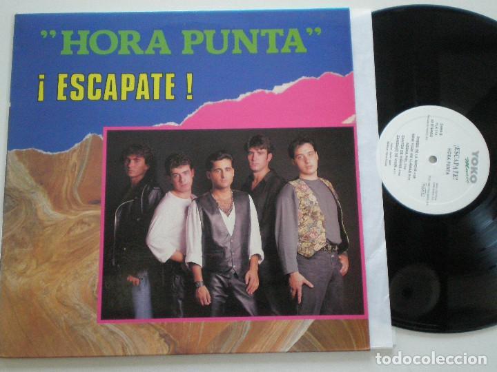 HORA PUNTA - ¡ESCAPATE! - LP YOKO MUSIC 1992 (Música - Discos - LP Vinilo - Grupos Españoles de los 90 a la actualidad)