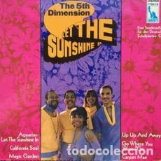 Discos de vinilo: THE 5TH DIMENSION* - LET THE SUNSHINE IN (LP, COMP) LABEL:LIBERTY, DEUTSCHER SCHALLPLATTENCLUB CAT#. Lote 142346310