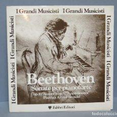 Discos de vinilo: LP. BEETHOVEN. SONATA PARA PIANO. ALFRED BRENDEL. EDITADO ITALIA. Lote 142348898