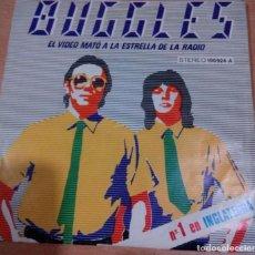 Discos de vinilo: BUGGLES -EL VIDEO MATÓ A LA ESTRELLA DE LA RADIO-KID DYNAMO-. Lote 142353694