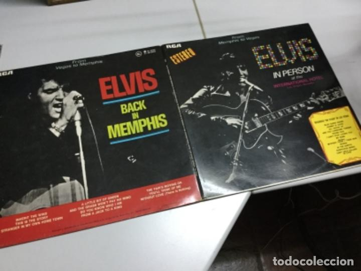 ELVIS IN PERSON AT THE INTERNATIONL HOTEL LAS VEGAS (Música - Discos - LP Vinilo - Rock & Roll)