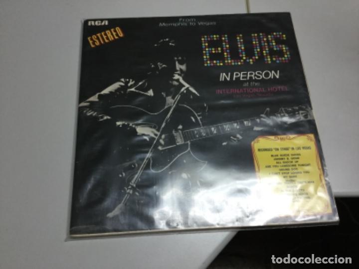 Discos de vinilo: Elvis in Person at the Internationl hotel Las Vegas - Foto 2 - 142363194