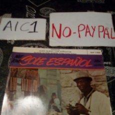 Discos de vinilo: NAT KING COLE ESPAÑOL CACHITO. Lote 142364516