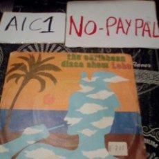 Discos de vinilo: THE CARIBBEAN DISCO SHOW LOBO VER FOTOS ESTADO FUNDA NECESITA REPARACIÓN. Lote 142364889