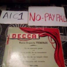Discos de vinilo: NUEVA ORQUESTA PROMENADE VER FOTOS ESTADO FUNDA ALGUNA ARRUGA. Lote 142364956