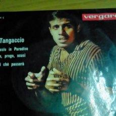 Discos de vinilo: ADRIANO CELENTANO IL TANGACCIO 1963 VERGARA. Lote 142369378