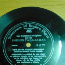Discos de vinilo: SELECCIONES DEL RENDER'A DIGESTIÓN LOS INDIOS TRABAJARÁ DISCO DE PLÁSTICO BLANDO SIN FUNDA PROMO. Lote 142369410