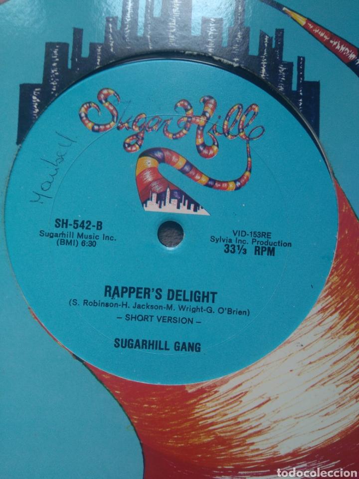 Discos de vinilo: Sugarhill Gang - Rapperd delight - 12 - Maxi - Foto 2 - 142394896