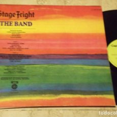 Discos de vinilo: THE BAND –STAGE FRIGHT-CAPITOL RECORDS ?–1 J 064-80.536 ESPAÑA-PROMOCIONAL-1970-CARPETA ABIERTA. Lote 142396402