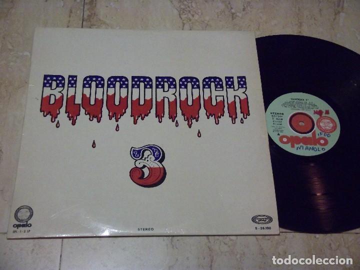 BLOODROCK ?– BLOODROCK 3- OPALO-OPL-1-3-LP- MOVIEPLAY-S-26100- ESPAÑA-1971- (Música - Discos - LP Vinilo - Pop - Rock - Extranjero de los 70)
