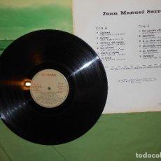 Discos de vinilo: LP JOAN MANUEL SERRAT. ZÁFIRO 1969 DEDICADO A ANTONIO MACHADO. Lote 142402166
