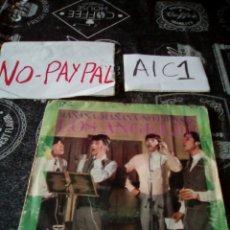 Discos de vinilo: LOS ÁNGELES MAÑANA MAÑANA NO PIENSES VER ESTADO FUNDA ALGUNA ARRUGA REPARADA CON GRAPAS. Lote 142403212